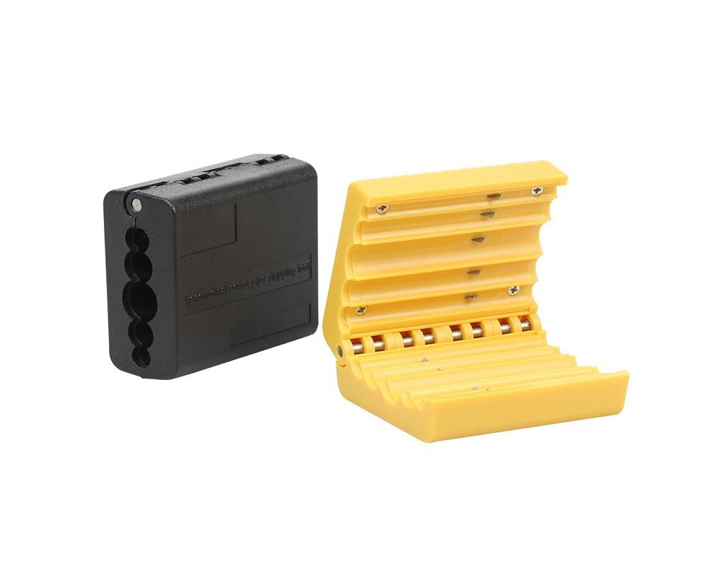 FO-10S Fiber Optic Mid Span Cable Cutting Tool Jacket Slitter Loose Tube Buffer Beam Tube Stripper (Yellow FO-10S)