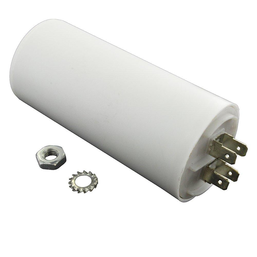 Universal condensador 4.5uF, 4,5 MFD: Amazon.es: Grandes ...