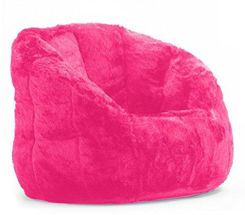 Cocoon Faux Fur Bean Bag Chair, Multiple Colors (1) by Urban Shop
