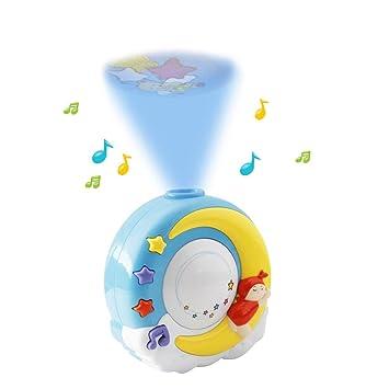 Amazon.com: WISHTIME - Proyector musical para cuna de bebé ...