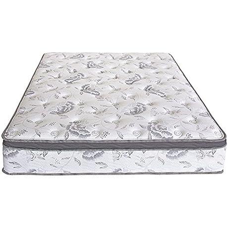 PrimaSleep 12 Inch Multi Layered Hybrid Euro Box Top Spring Mattress Non Weaving Innerspring Queen