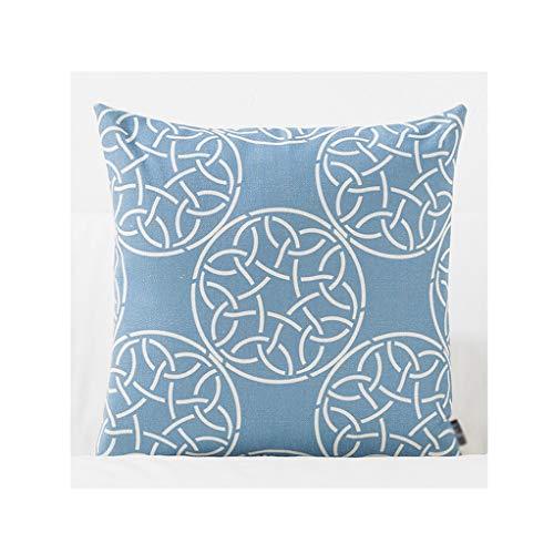 Lifangzhijia Lotus Pillow, Plant Flower Pillow, Cotton Pillow, Office Pillow, car Pillow (Shape : Cufflinks)