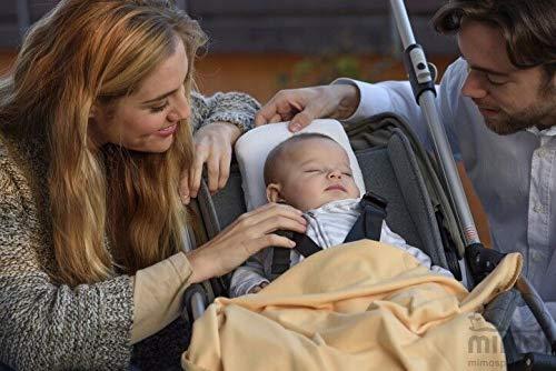 Cojín Mimos® - Prevención y corrección de deformidades craneales posicionales en bebés. (TALLA P)