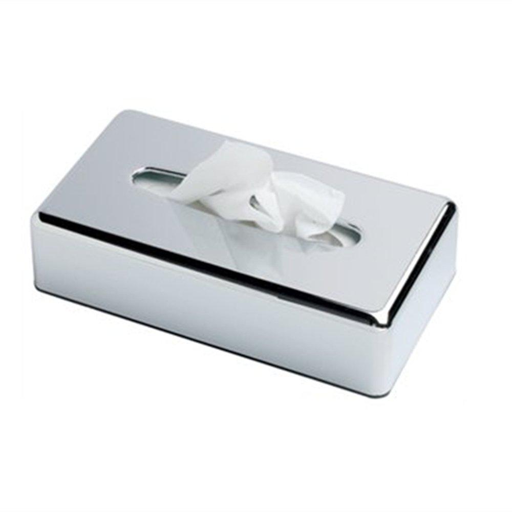 Crownstarqi - Portasalviette di tipo Kleenex con coperchio, adatto anche come portatovaglioli o supporto portaoggetti per bagno Green