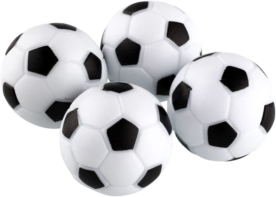 Forfar 4pcs Futbolín diversión de plástico 32 mm de fútbol de la ...