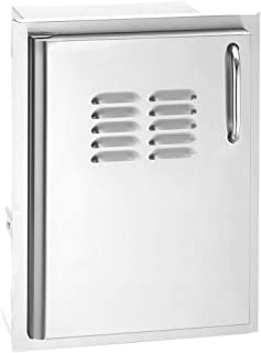 product image for Fire Magic Select Single Access Door (33920-1-SL), Left Hinge, Louvers, 18.75x24.5-Inch