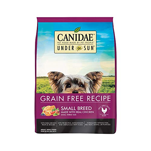 CANIDAEUnder The SunGrain Free Small Breed Adult Dog Food With Chicken - Grain Canidae