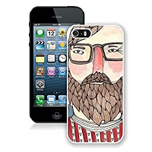 Smart Iphone 5s Case Charlie Popular Soft Silicone pc White Cover for Iphone 5 Mobile Accessories
