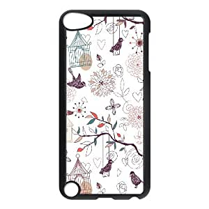 JCCFAN Painted Flower 2 Phone Case For Ipod Touch 5 [Pattern-2]