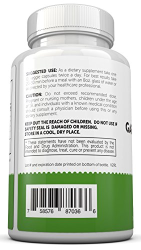 Garcinia Cambogia with 95% HCA - Pure Garcinia Cambogia Extract with HCA, Triple Strength, All Natural Appetite Suppressant, Weight Loss Supplement By Eco Pure Health by Klingler (Image #3)