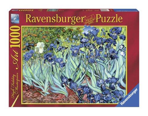 Ravensburger Puzzle 1000 pièces - l'iris - V.Van Gogh (code 15613)