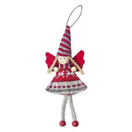 Omiky - Colgante de Tela con diseño de ángel, para niña, de Lana ...
