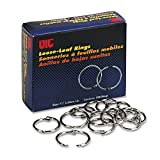 Officemate 99701 Officemate Book Rings, 1'', 100/Box