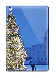 Awesome Christmas Trees Pictures Flip Case With Fashion Design For Ipad Mini