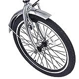 WV LeisureMaster 20 Folding Road Bike Bicycle,Silver