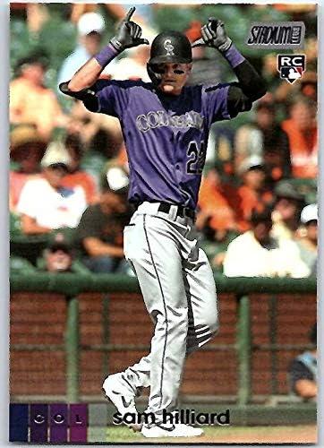 2020 Topps Stadium Club #98 Sam Hilliard NM-MT RC Rookie Colorado Rockies Baseball