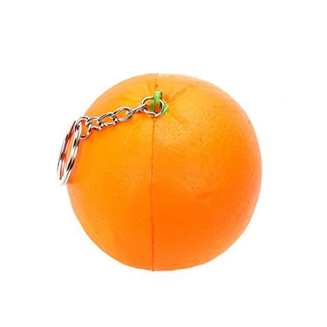 ALIKEEY-Juguetes Antiestrés Linda Simulación Naranja Súper ...
