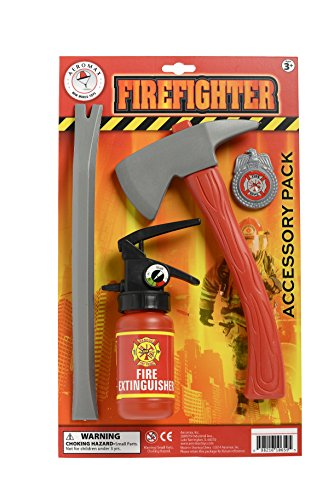 Fake Fire Extinguisher Halloween (Aeromax Firefighter Accessory)