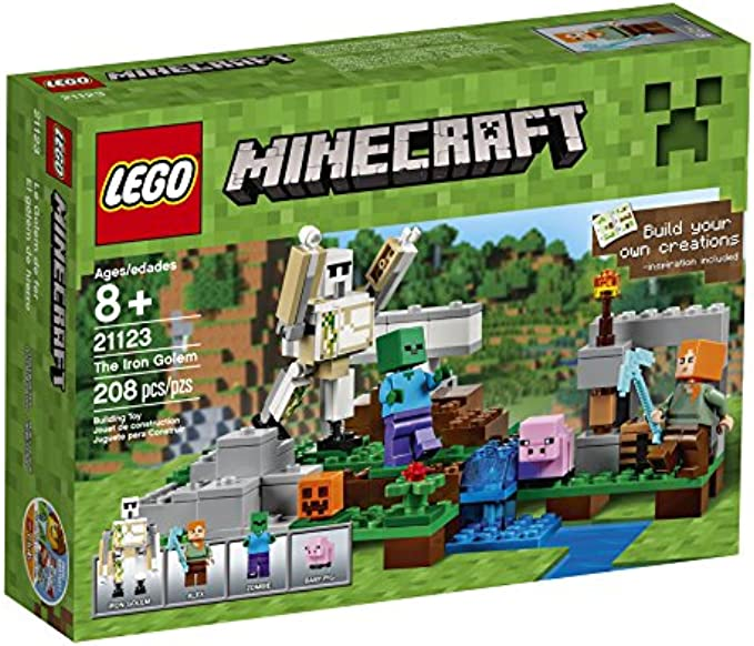 LEGO Minecraft גולם הברזל 21123