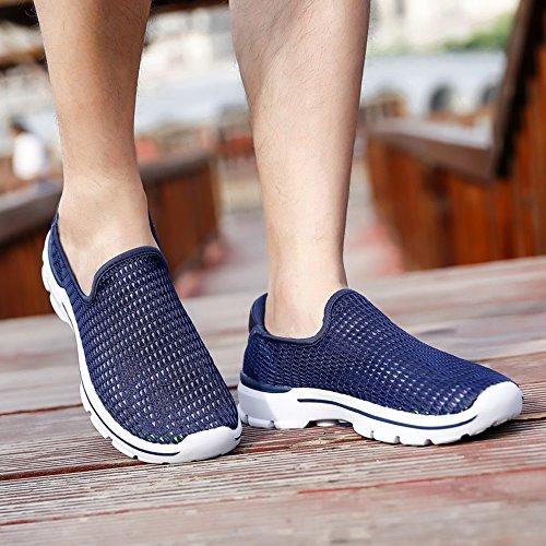Homme Aquatiques Eu Chaussures Sunjcs Pour Bleu Bleu 39 gFAaqxwO