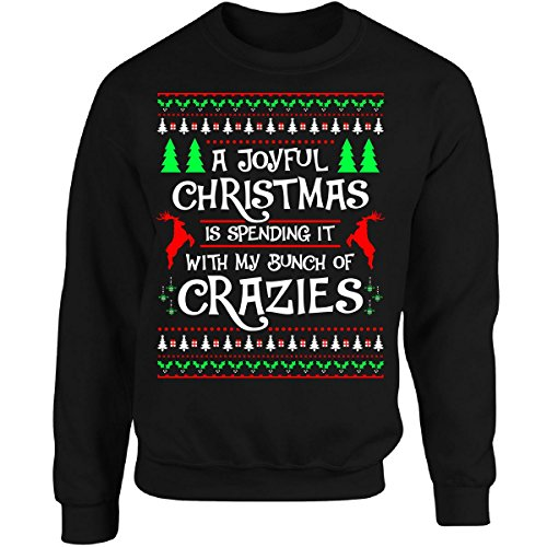 New Family Ugly Christmas Sweater Style Gift Matching - Adult Sweatshirt free shipping