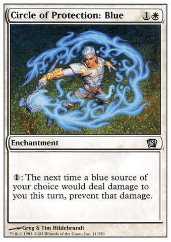 Magic: the Gathering - Circle of Protection: Blue - Eighth Edition