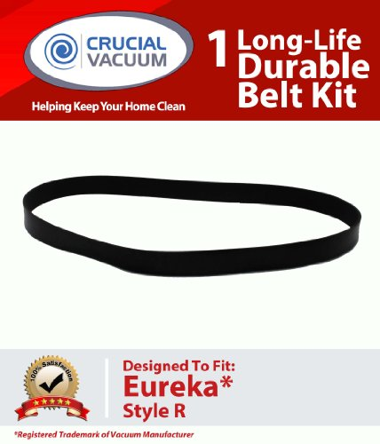 1 Eureka R Style Long Life Belt for 4800 SmartVac Series – Compare to Part #61110, 61110B; Designed and Engineered by Crucial Vacuum, Appliances for Home
