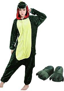 b63e475c86600 Adulte Unisexe Cosplay Pyjama Kigurumi Girafe Combinaison Animaux Costume  Ensemble de Pyjama Soirée de Déguisement Vêtements