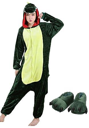 73cd6b799667c Adulte Unisexe Cosplay Pyjama Kigurumi Girafe Combinaison Animaux Costume  Ensemble de Pyjama Soirée de Déguisement Vêtements