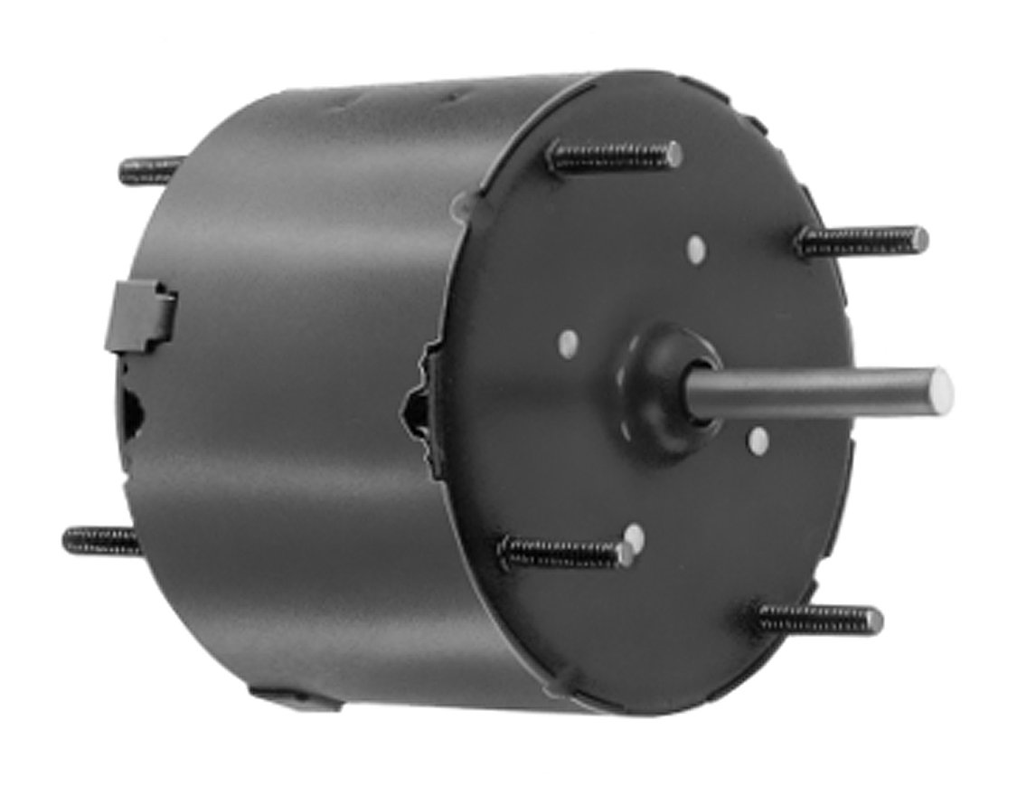 Fasco D402 3.3'' Frame Totally Enclosed Shaded Pole General Purpose Motor with Sleeve Bearing, 1/60HP, 3000rpm, 115V, 60Hz, 0.75 amps, CW Rotation