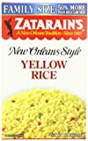 Zatarain's Yellow Rice Family Size, 12 oz (Case of 8)