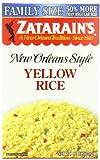 Zatarain's Yellow Rice Family Size, 12 oz (Case of 8)