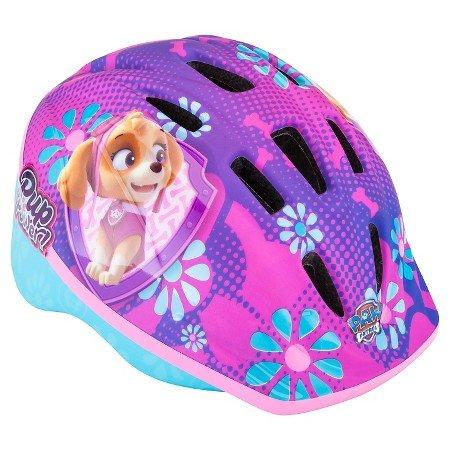 Discover Bargain Paw Patrol Bike Helmet Skye Toddler Size