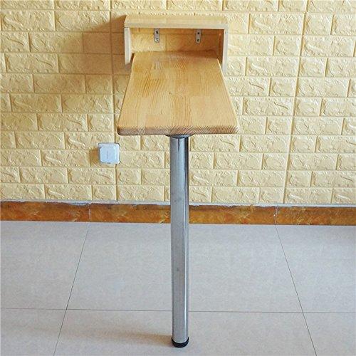 Bordsskiva ZR – trä vägg-drop-blad, fällkök och matbord skrivbord, bardisk, barnbord, datorbord, 9 storlekar tillgängliga möbler (storlek: 95 x 30 cm)