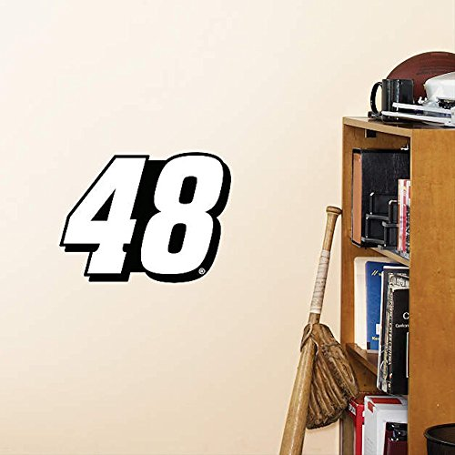 NASCAR Jimmie Johnson #48 Fathead Logo Set 12