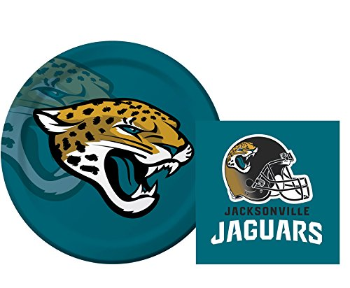 Jacksonville Jaguars Luncheon Napkins Plates