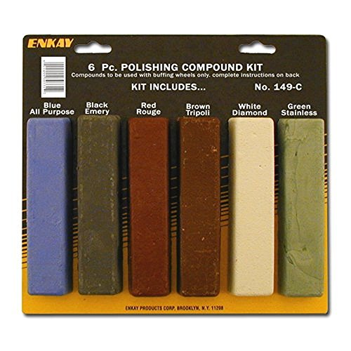 - Enkay 149-C Polishing Compound Kit, carded