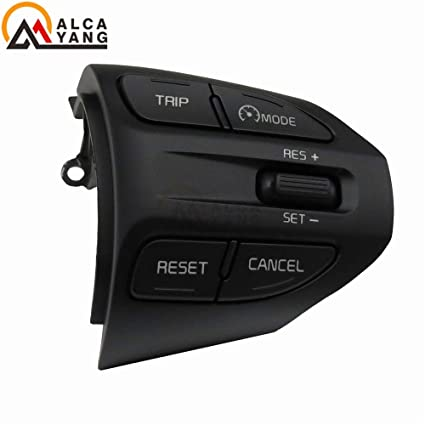 Amazon.com: Botones de coche: Botón de volante para KIA K2 ...