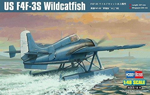 Hobby Boss F4F-3S Wild Cat Fish Airplane Model Kit ()