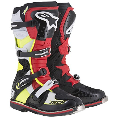 RS Unisex Size Yellow 8 Adult White Black 15 Tech Boots Alpinestars Red wIfax4fq
