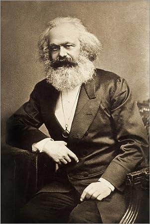 Posterlounge Cuadro de metacrilato 60 x 90 cm: Karl Marx de Bridgeman Images