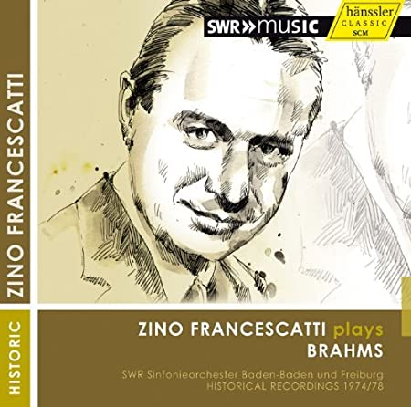 Zino Francescatti Plays Brahms by Z./SWR Sinfonieorchester Baden-Baden Francescatti (2013-04-18)