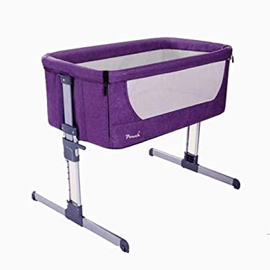 0ae078cef0 Image Unavailable. Image not available for. Color  Pouch H05 Baby Portable  Bed Connected with Parents  Normal Big Bed Infant Travel Sleeper Portable