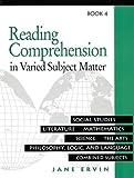 Reading Comprehension in Varied Subject Matter Book 4, Jane Ervin, 0838806031