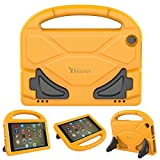 PC Hardware : All-New Amazon Fire HD 8 Tablet Case,Riaour Kids Shock Proof Protective Cover Case for Amazon Fire HD 8 Tablet (6th Generation,2016 Release / 7th Generation,2017 Release) (Orange 0)