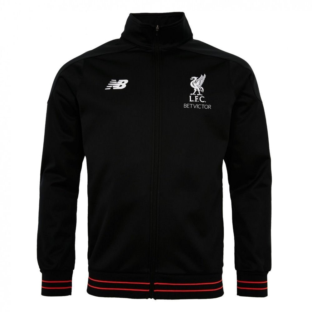 2016-2017 Liverpool Elite Training Walkout Jacket (Black) New Balance