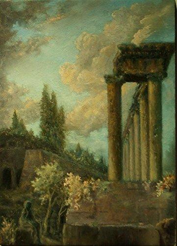 Miniature Oil Painting ACEO Painting Original Miniature Landscape Painting ()