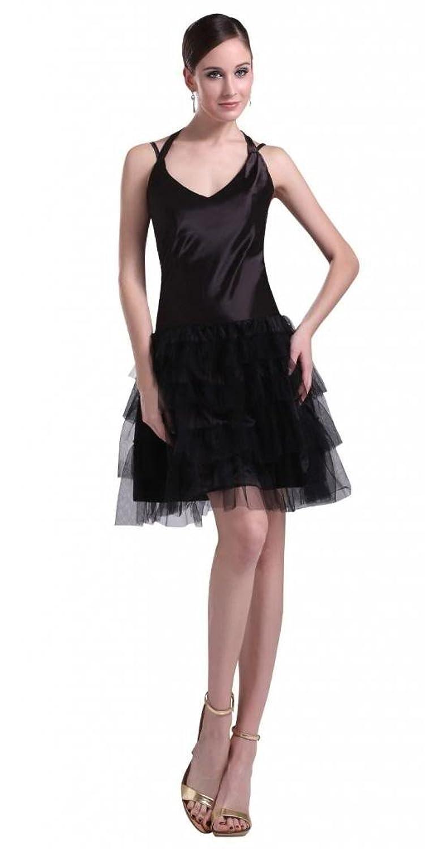 Orifashion Elegant Black Prom/Evening Dress (Model EDSHER0081)