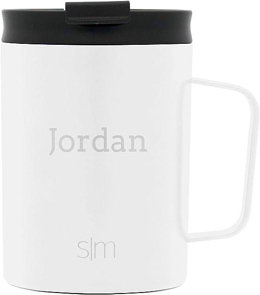 Personalised Custom Photo Slim Thermal Mug Coffee Tea Steel Travel Flask Cup