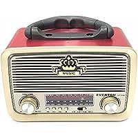Everton VT-3101 Nostalji,Şarjlı 3 Band Radyo,usb, sd,Aux, mp3 player